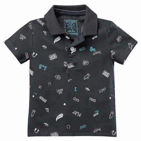OFFCORSS Toddler Boy Cotton Polo T Shirt Camisa Camisetas Tipo Polo Para Niños (Camison Para Halloween)