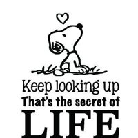"""SNOOPY QUOTE VINYL WALL DECAL - """"Never Stop Smiling"""" Charlie Brown Peanuts Cartoon Character Stickers for toddler, baby, kids room ot bedrooms - 18""""x20"""""""