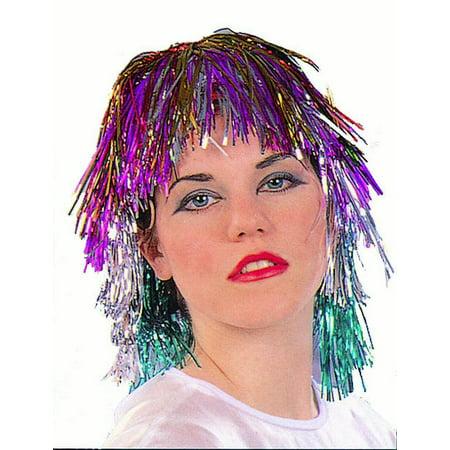 Tinsel Wig - Rainbow Dash Wig With Ears