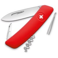 D01 Swiss Pocket Knife Red