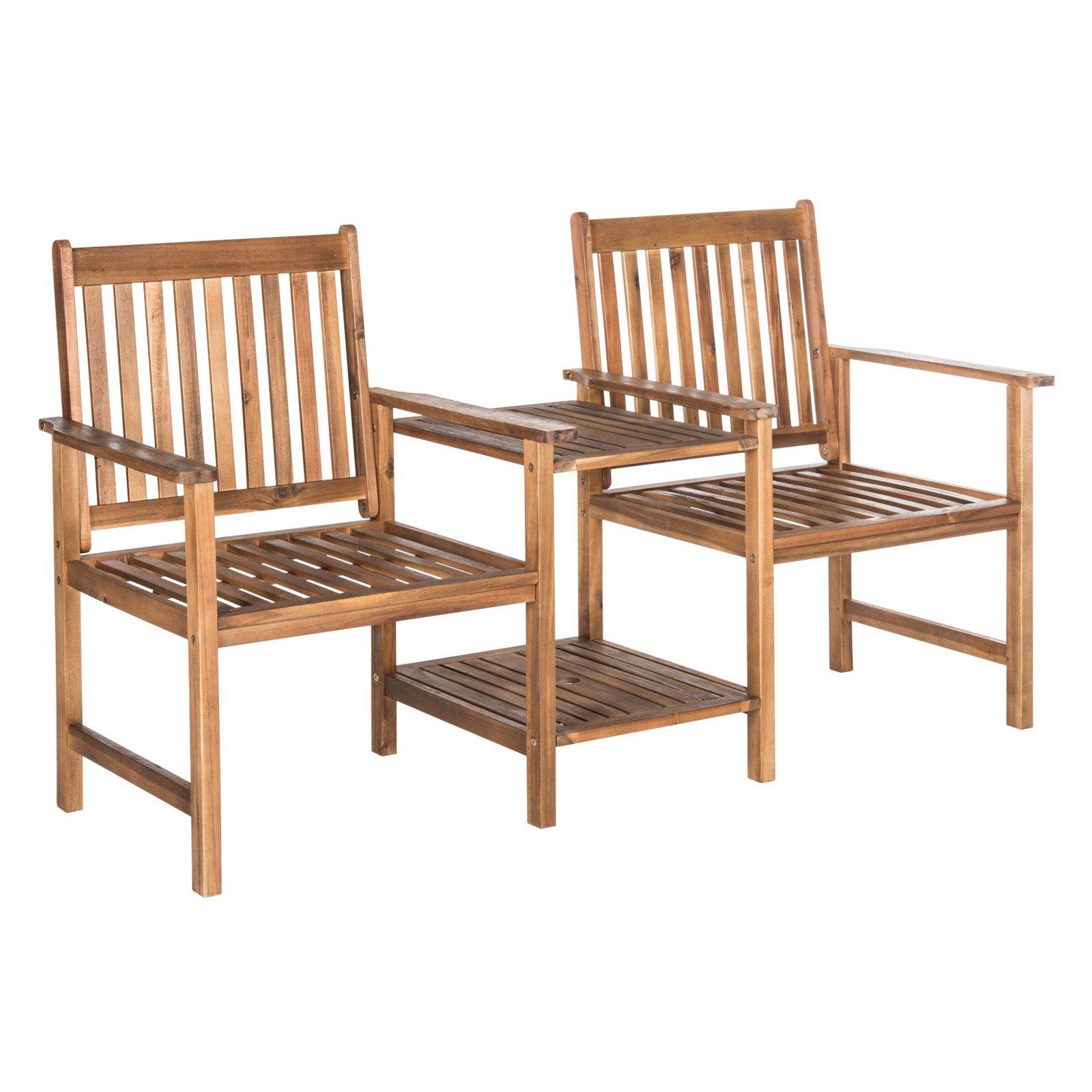 Safavieh Brea Outdoor Twin Seat Bench by Safavieh