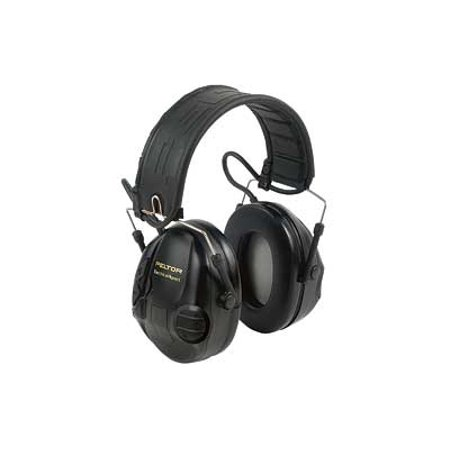 Peltor Tactical Sport Hearing Protection, Black, 1