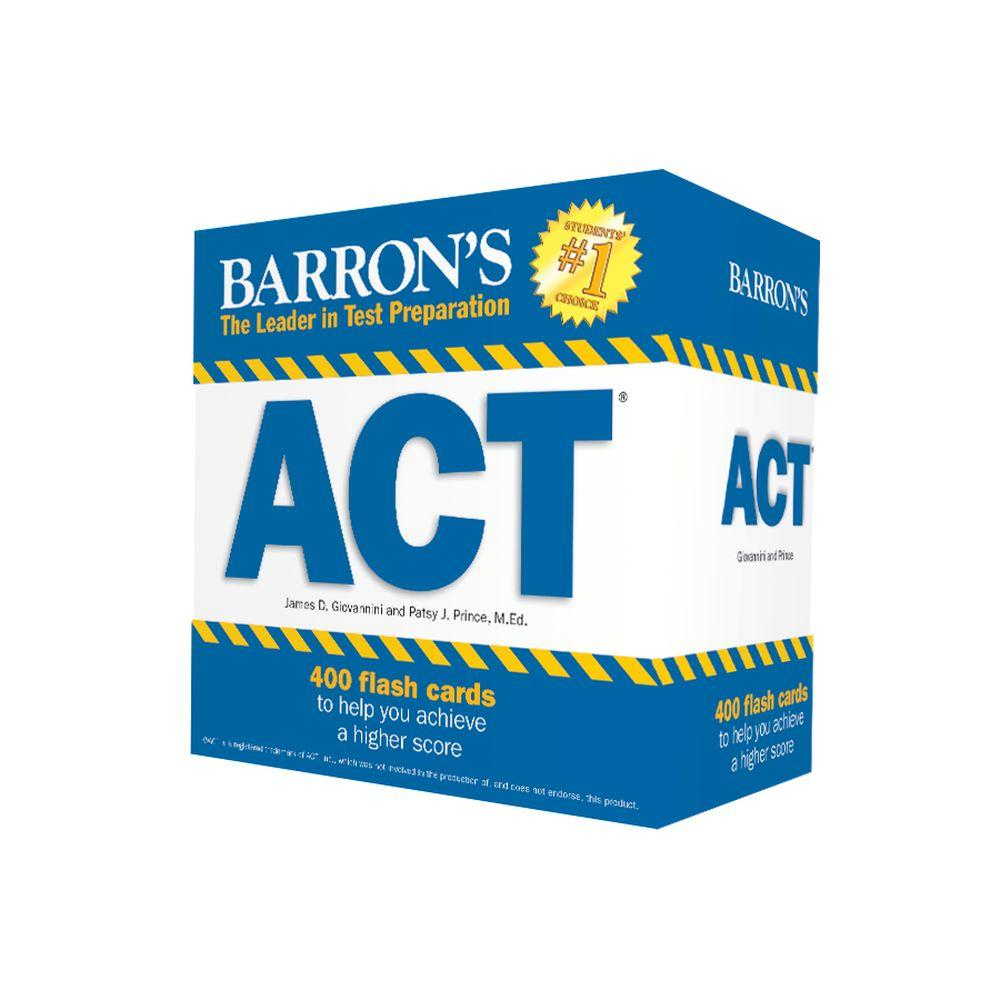 Barron's ACT Flash Cards : 410 Flash Cards to Help You Achieve a Higher Score