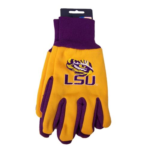 LSU Tigers NCAA Two Tone Gloves by Wincraft