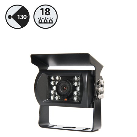 Rear View Safety 130 Degree CCD Backup Camera with 18 Built in Infra-reds RVS-770