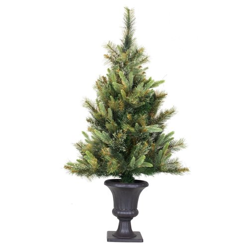The Holiday Aisle Cashmere 3.5' Green Pine Artificial Christmas Tree