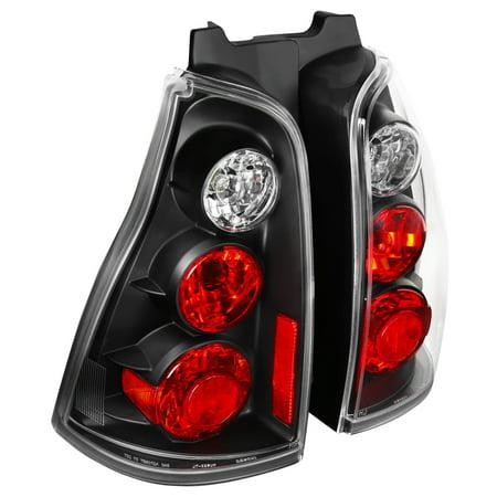 Spec-D Tuning For 2003 2004 2005 Toyota 4Runner 4-Runner Black Tail Light 2003 2004 (2004 Toyota 4runner Limited V8 For Sale)