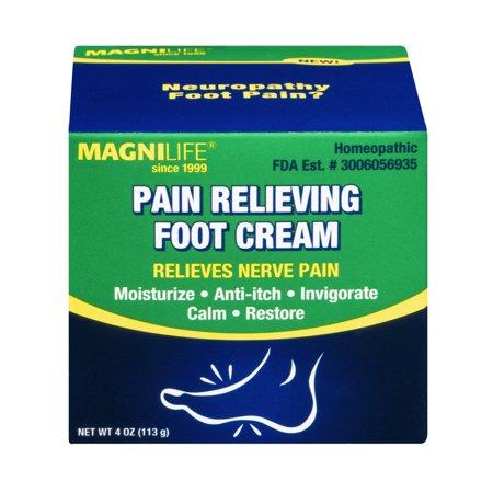 MagniLife Crème analgésique pied, 4,0 OZ