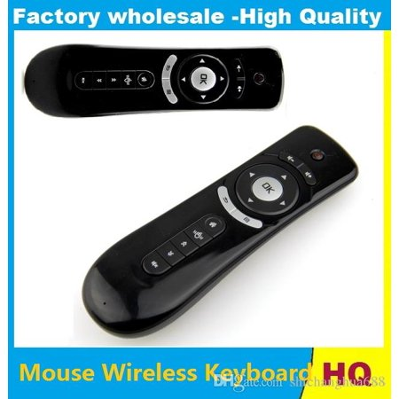 851e91e605b Fly Air Mouse T2 Remote Control 2.4GHz Wireless 3D Gyro Motion Stick For 3D  Sense