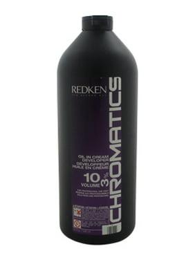 Redken Chromatics , Hair ColorOil In Cream Developer - 10 Volume 3%, 32 Oz