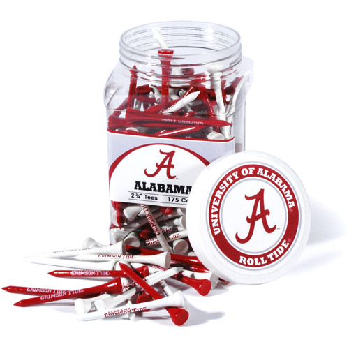 Team Golf NCAA Alabama Jar Of 175 Golf Tees