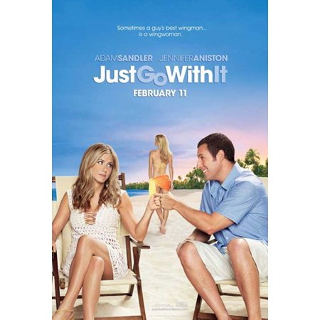 Just Go With It Movie Poster 11 X 17