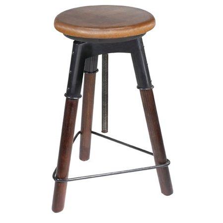Fine 17 Stories Arnav 25 Adjustable Height Swivel Bar Stool Ncnpc Chair Design For Home Ncnpcorg