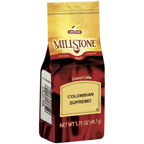 Millstone Colombian Supreme Ground Coffee, 1.75 oz