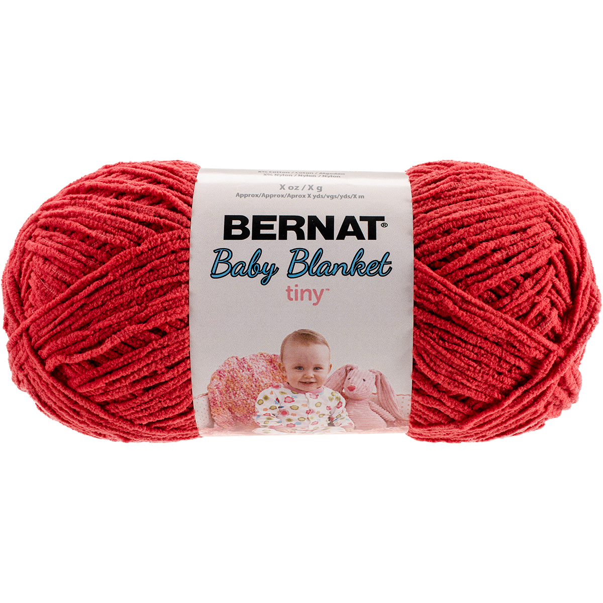 Bernat Baby Blanket Tiny Yarn-Red Barn