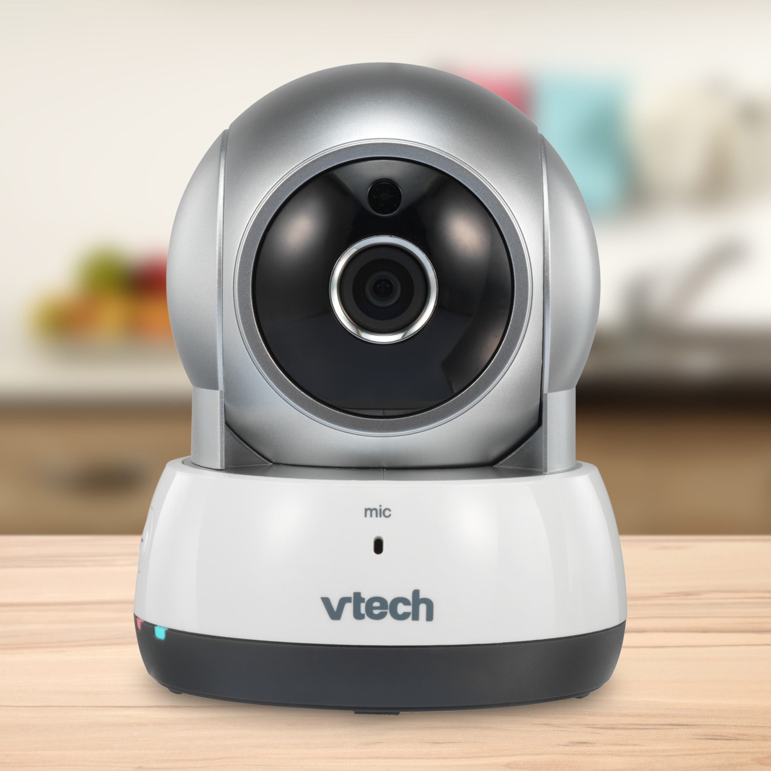 VTech VC931, Wireless IP HD Video Camera with Remote Pan & Tilt, Free Live Streaming, Infrared Night Vision, Silver by VTech