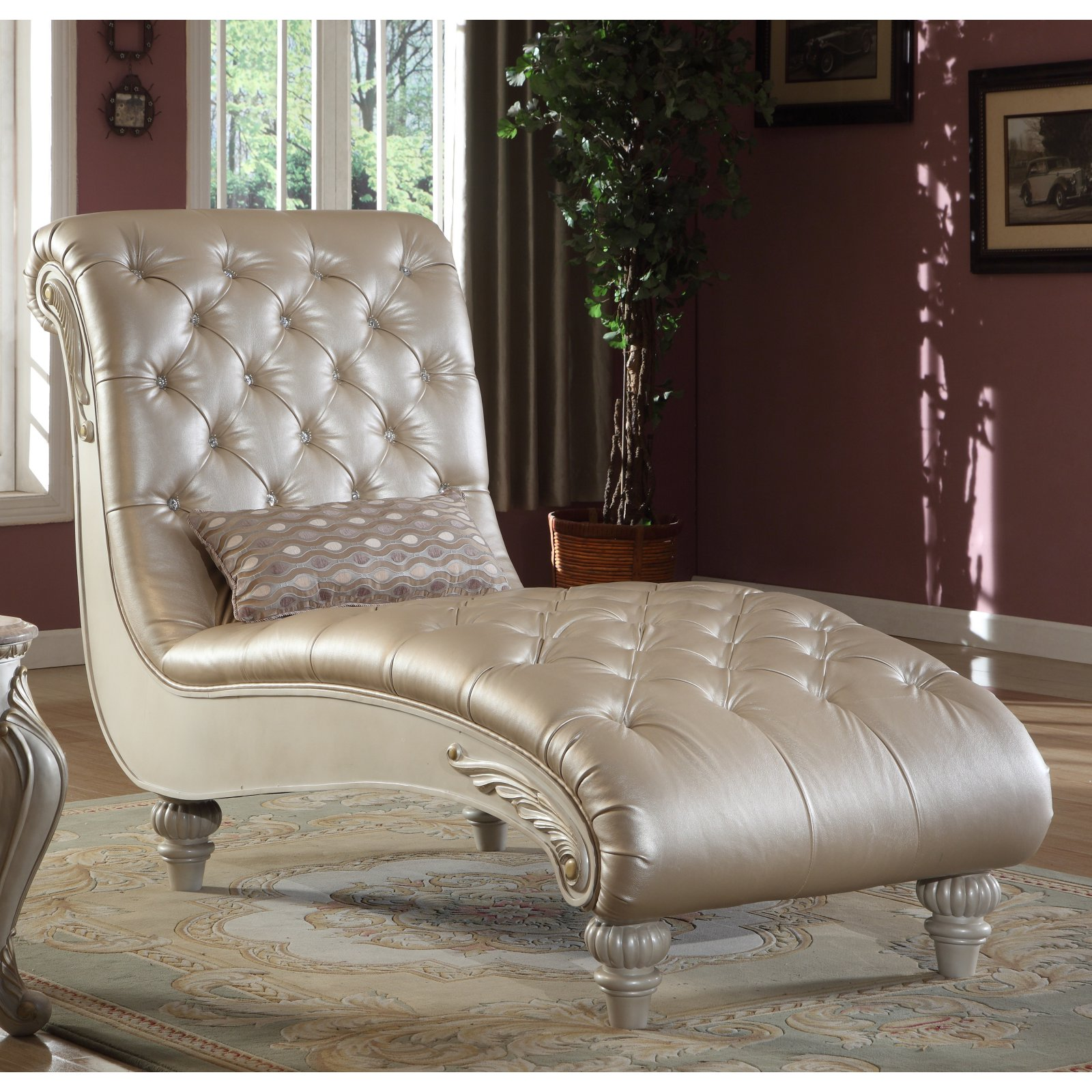 Meridian Furniture Inc Marquee Indoor Chaise Lounge by Chaise Lounges