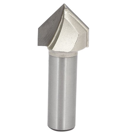 1/2-inch Shank 7/8-inch Cutting Dia 90 Degree V-Grooving Chamfer Router Bit - image 4 de 4