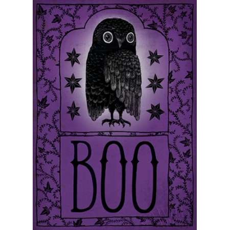 Vintage Halloween Boo Poster Print by Sara Zieve Miller