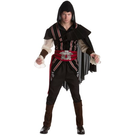 Assassins Creed Ezio Men's Adult Halloween (Ezio Assassin's Creed Brotherhood Costume)