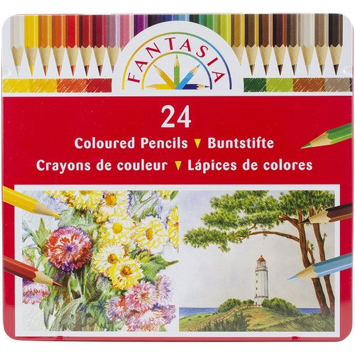 Fantasia Colored Pencil Set, 24pc