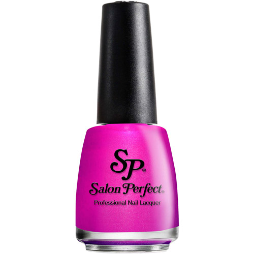 Salon Perfect Nail Lacquer, 503 Fired Up Fuchsia, 0.5 fl oz