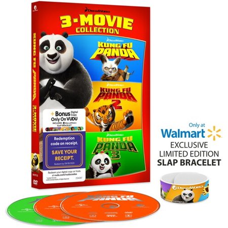 Kung Fu Panda 3-Movie Collection (DVD)