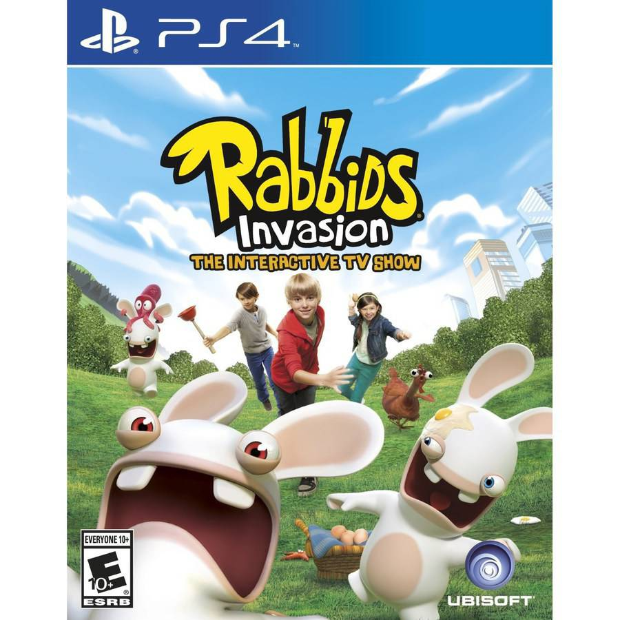 Rabbids Invasion (PS4) - Pre-Owned