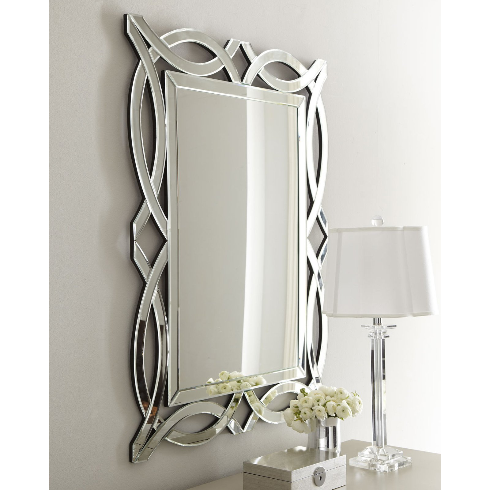 Afina Modern Luxe Wall Mirror - 32W x 42H in.