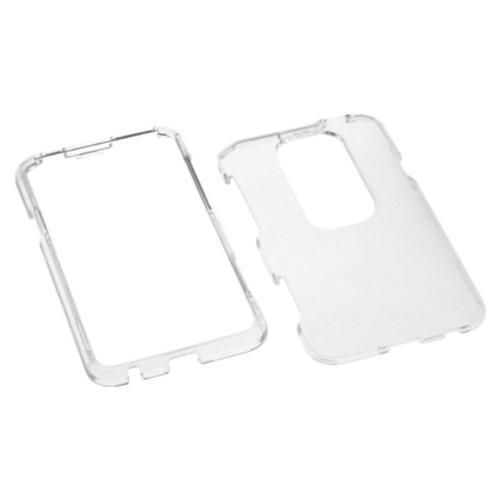 Insten T-Clear Phone Case for HTC: EVO 3D, EVO V 4G