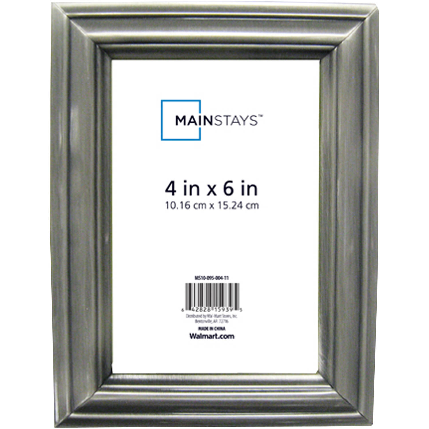 Mainstays picture frame with glass have a front-loading format. Mainstays 8x10 Picture Frames, Set of 6 (2 Pack, Black) by Mainstays.. $ $ 30 FREE Shipping on eligible orders. More Buying Choices. $ (16 new offers) Product Features Mainstays 8x10 Picture Frames, Set of 6.
