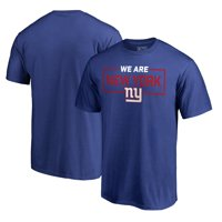 Product Image New York Giants NFL Pro Line by Fanatics Branded We Are Icon  T-Shirt - d14073de9