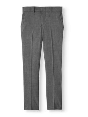 Arrow Boys Aroflex Stretch Flat Front Dress Pant, Sizes 4-18