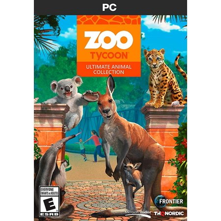 Nordic Zoo Tycoon Ultimate Animal Collection (PC CD)