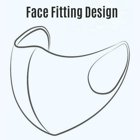 10PCS Protective Mask, Washable Reusable Face Mask - image 2 of 6