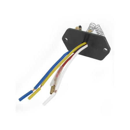 Vehicle Car Evaporator Heater Blower Motor 4 Wired Ceramic Resistor DC 24V - image 1 de 2
