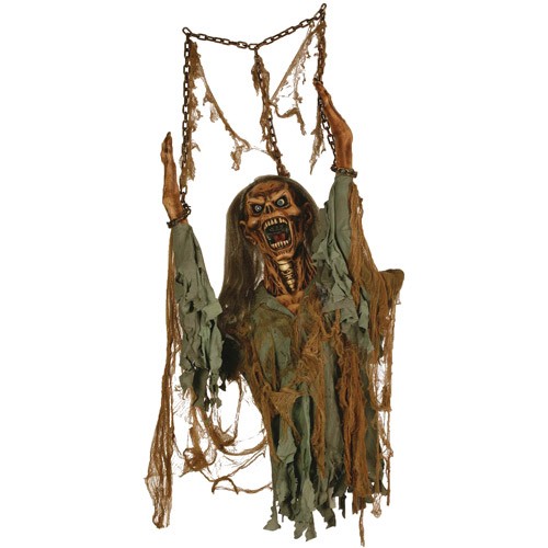 Life-Size Hanging Rotten Corpse Halloween Prop