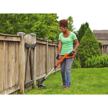 "BLACK+DECKER LST201 20V MAX 1.5AH Lithium-Ion Cordless 10"" String Trimmer / Edger"