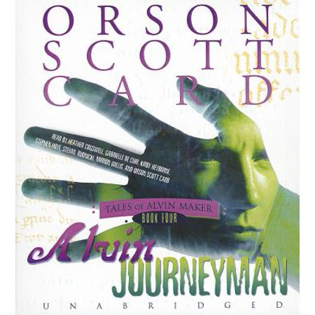 Alvin Archival Print Protector - Alvin Journeyman by Orson Scott Card Unabridged 2012 CD ISBN- 9781441737687