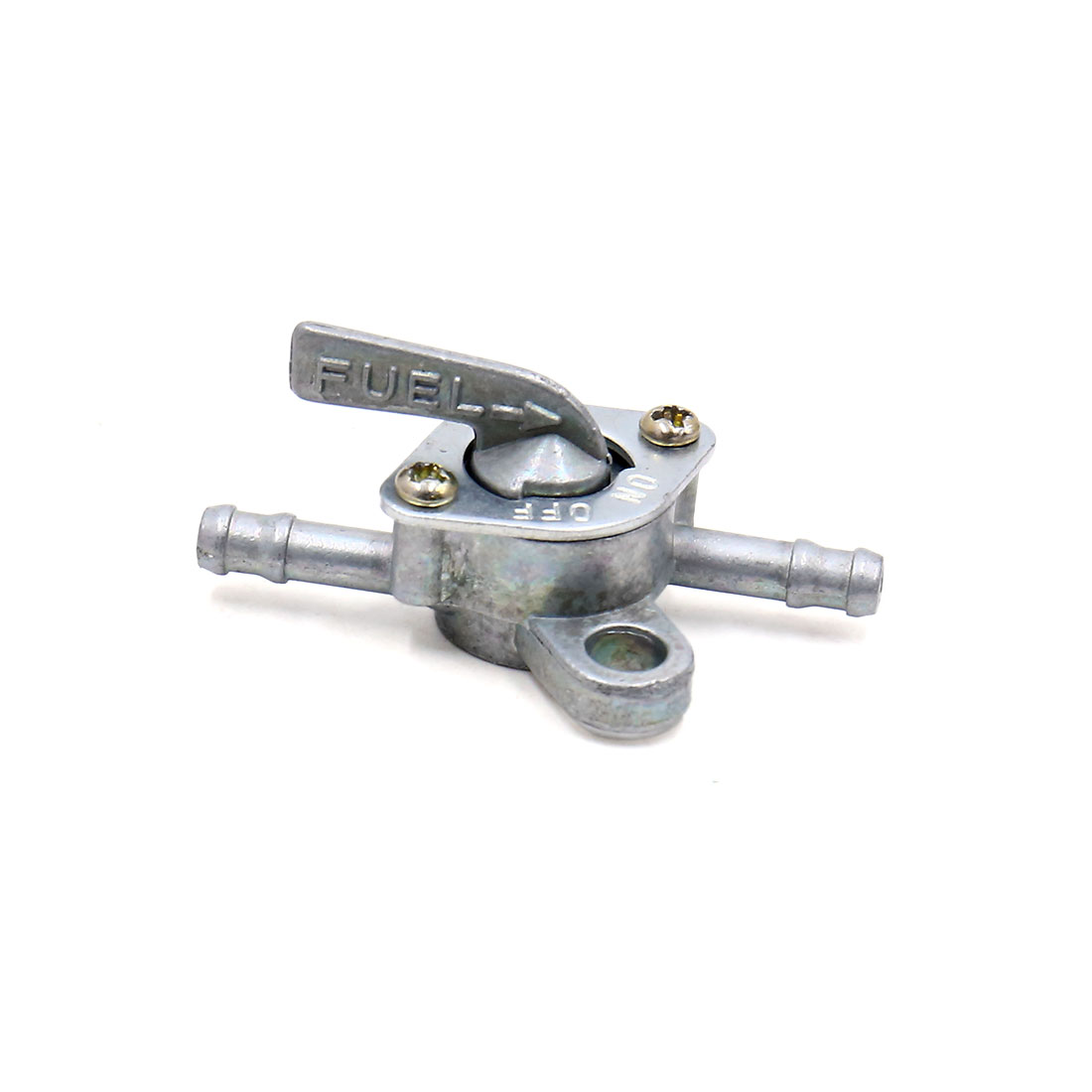 Silver Tone Universal Fuel Filter W Oil Tank Switch For Atv Scooter Filters Motorcycle