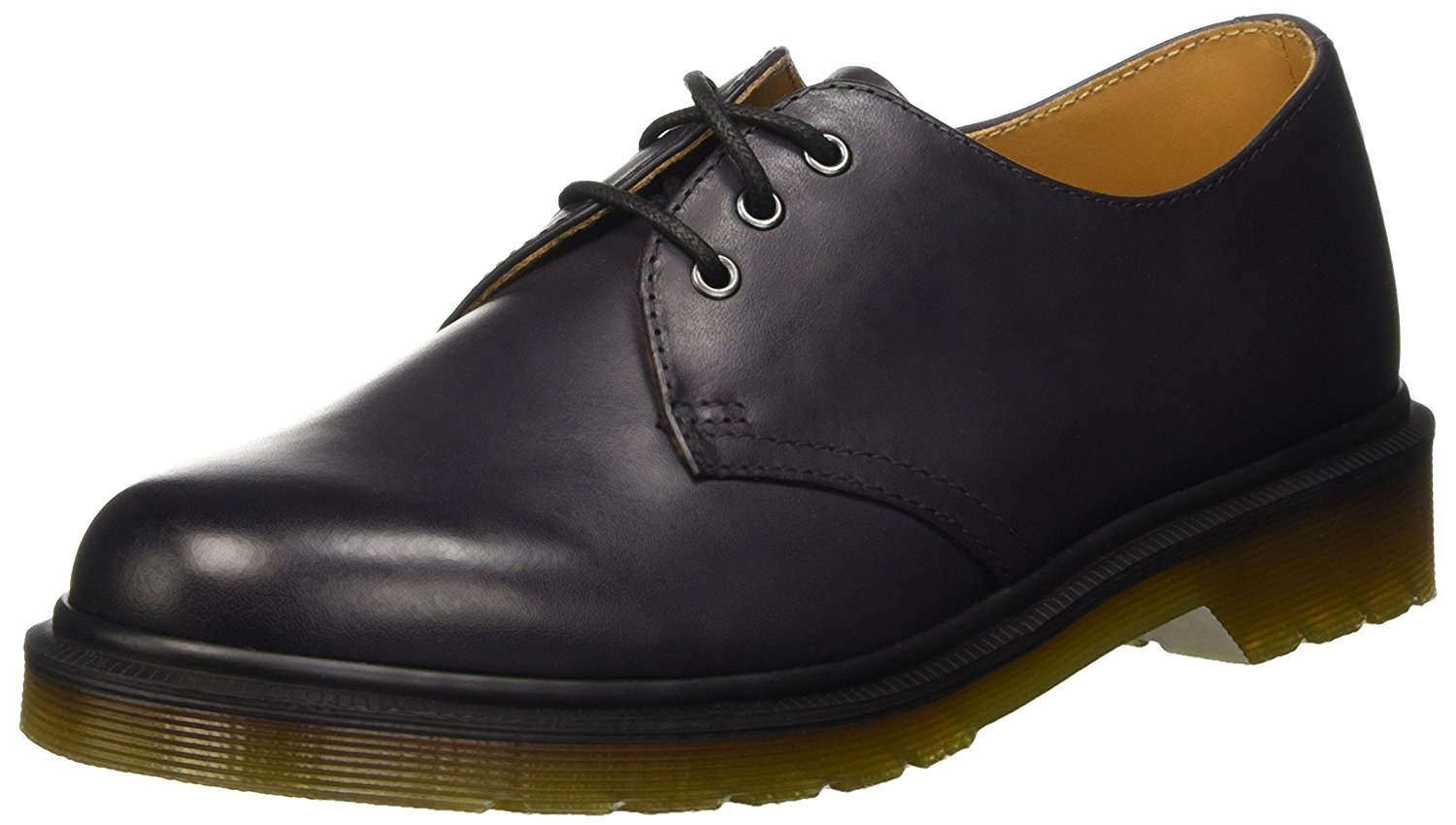Dr. Martens Men's 1461 Fashion Oxfords Grey Leather 13 M UK 14 M US by