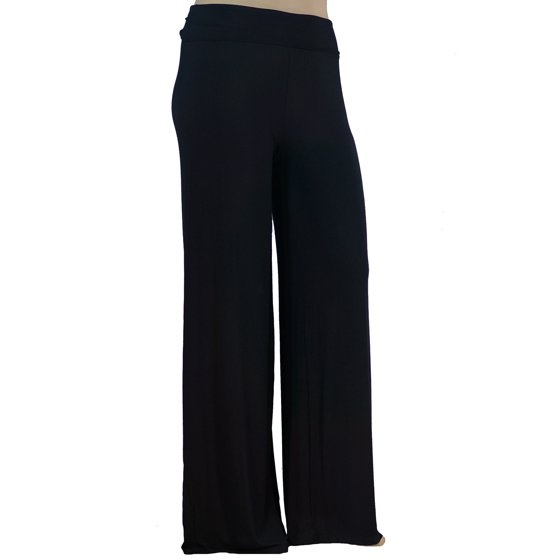ffbcd71d770a2 Stylzoo - Stylzoo Women s Plus Size Premium Modal Softest Ever Stretchy  Pants Palazzo Pants Yoga Pants Made in USA with Imported Fabric -  Walmart.com