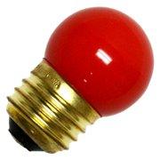 Halco 07019 - S11RED7.5C Standard Screw Base Colored Scoreboard Sign Light Bulb