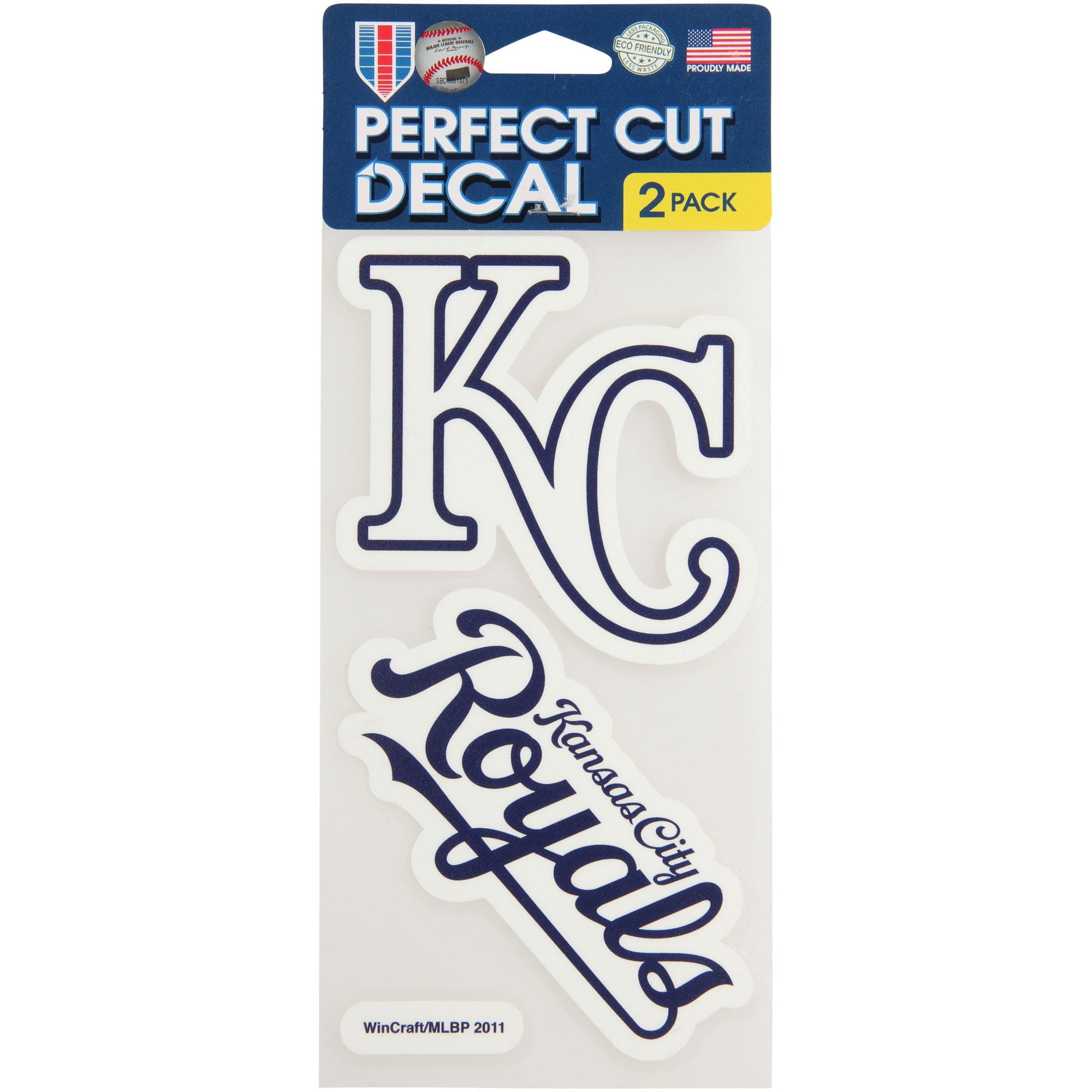 WinCraft Kansas City Royals 2-Pack Ultra Decals - No Size