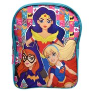 "DC Comics Superhero Girls Wonder Woman Batgirl 15"" Backpack"