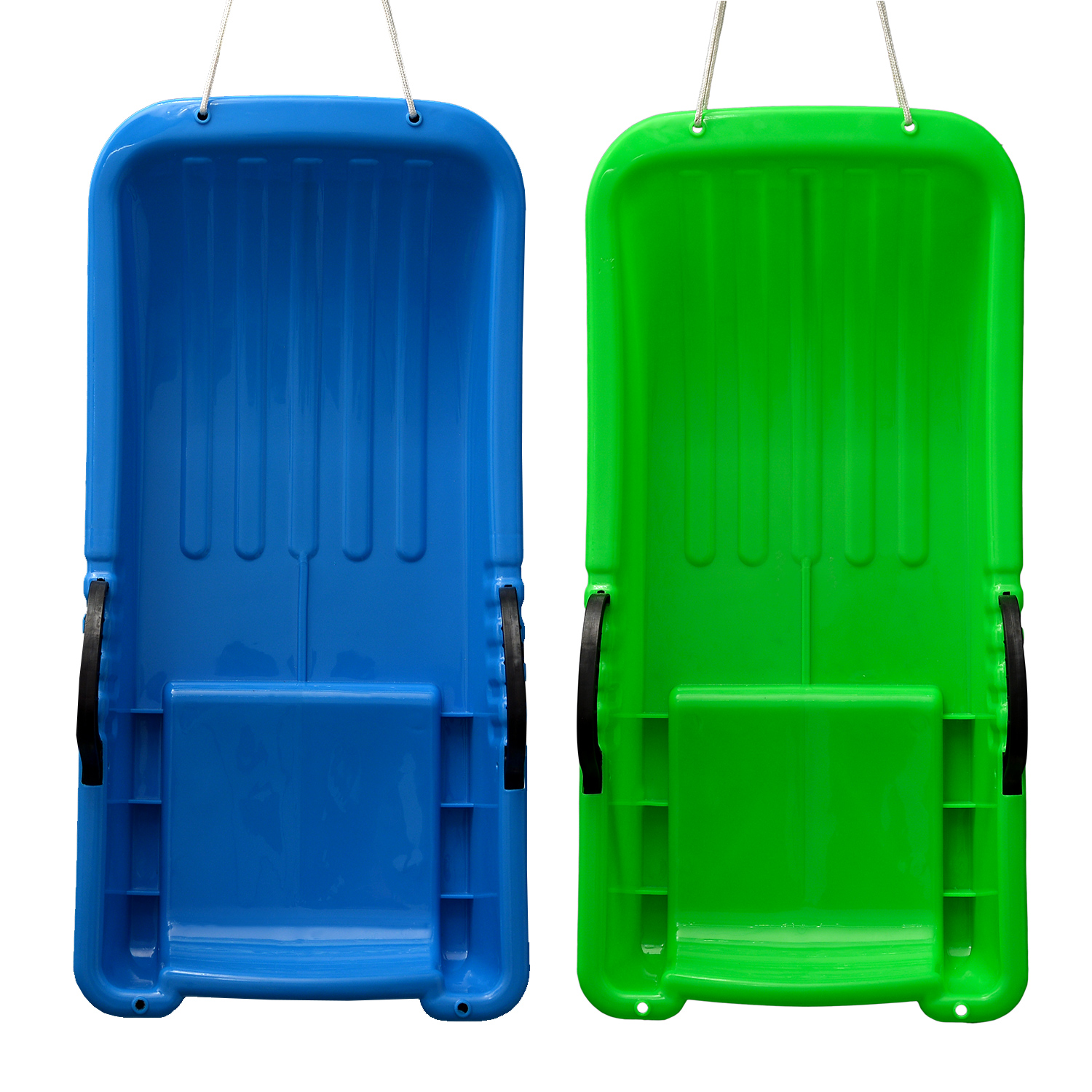 IMagE 31.5x15.7x5.3inches Kids Snow Sled Plastic Toboggan Boat Sledge Snowboard by