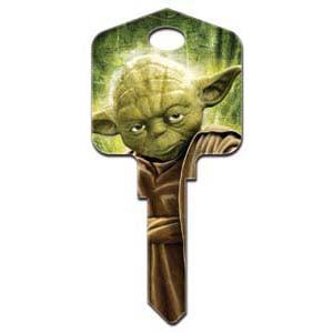 Schlage STAR WARS - Yoda Key Blank