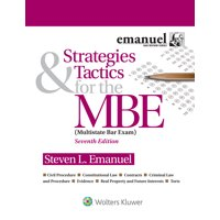 Bar Review: Strategies & Tactics for the MBE (Paperback)