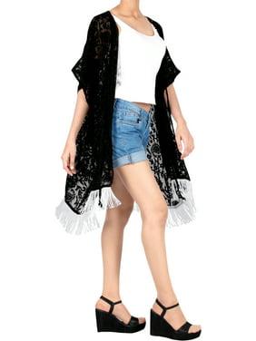 Womens Chiffon Shawl Kimono Coat Cardigan Tops Beach Cover Up Blouse Summer Beachwear Casual Loose Shirt C