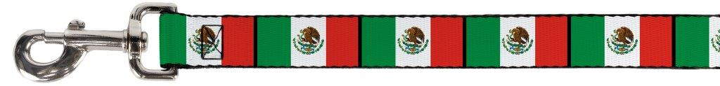 Mexico Mexican Flag Green White Red Fun Animal Pet Dog Cat Leash